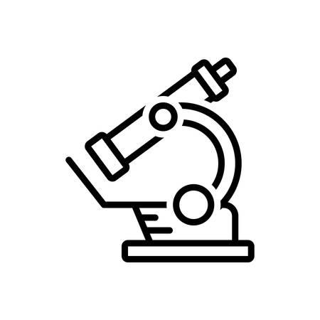 Icon for microscope,instrument Çizim