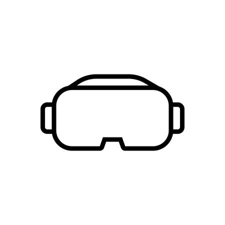 Icon for vr,vr glasses Stok Fotoğraf - 130481620