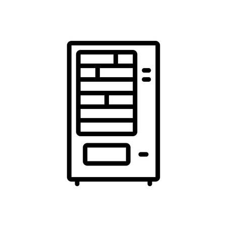 Icon for vending machine,confectionery Ilustração