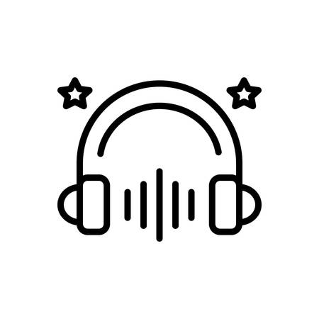 Icon for entertainment,music