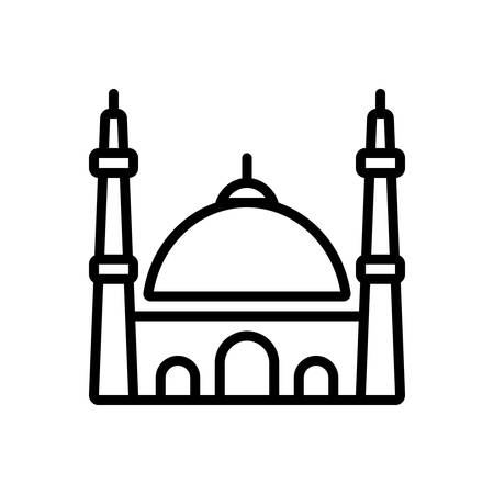 Icon for mosque,istanbul