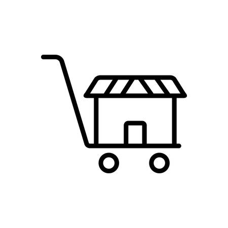 Icon for supermarket,basket
