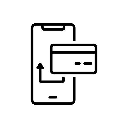 Icon for card payment,electronic