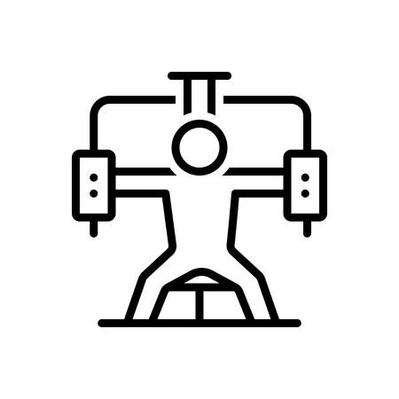 Icon for gym,fitness