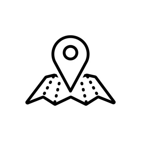 Icon for map location,location 스톡 콘텐츠 - 130483125