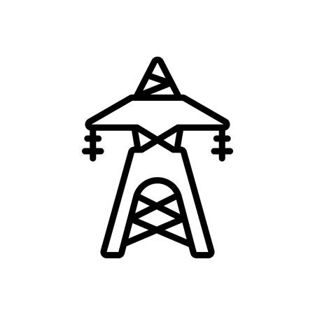 Icon for transmission tower,network