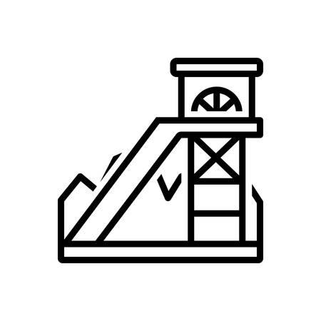 Icon for coal mining ,equipment