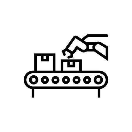 Icon for conveyor ,logistics