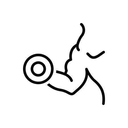Icon for biceps,pectorals