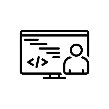 Icon for programmation,coding