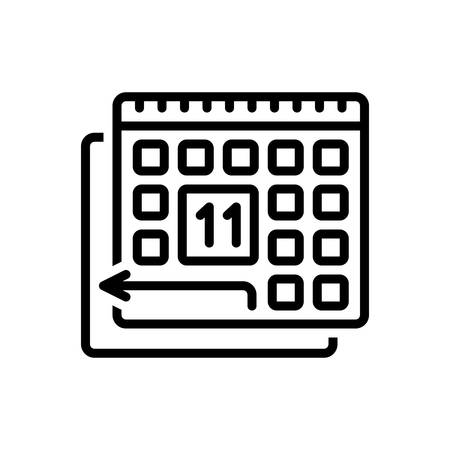 Icon for pto,paid time off,policy