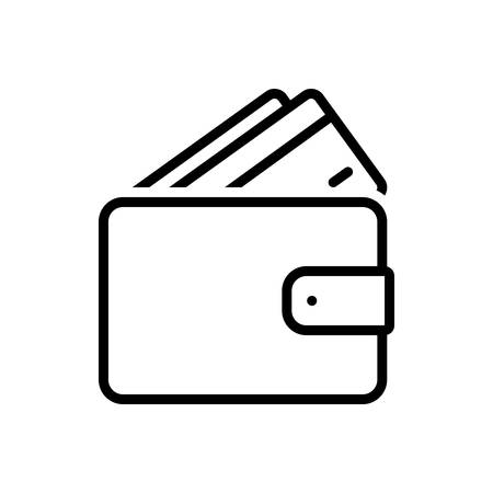 Icon for wallet,purse