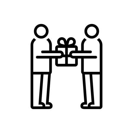 Icon for proffer,offer,tender