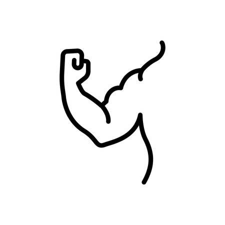 Icon for muscle,arm,strong