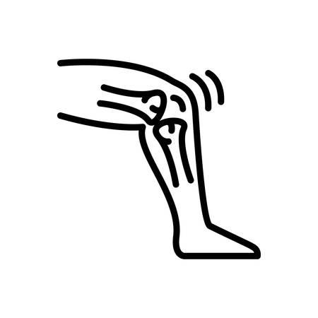 Icon for tendon,bone Vectores