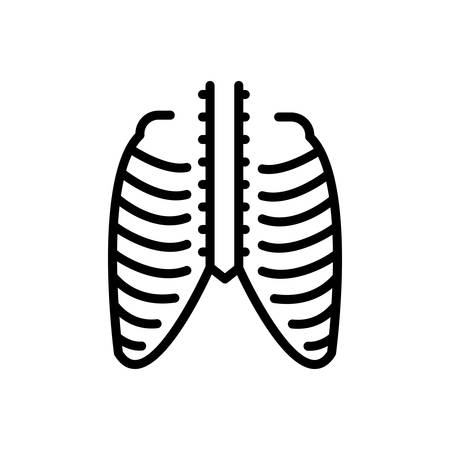Icon for thorax,ribcage
