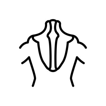 Icon for trapezius,biceps