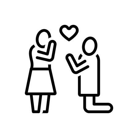 Icon for purpose,love,people Ilustrace