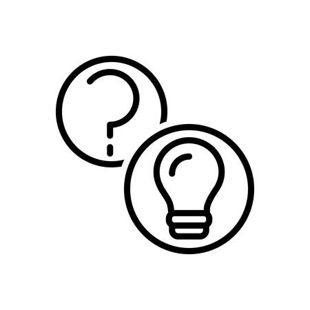 Icon for questions and answers,question