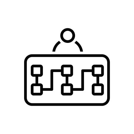 Icon for planning,plan