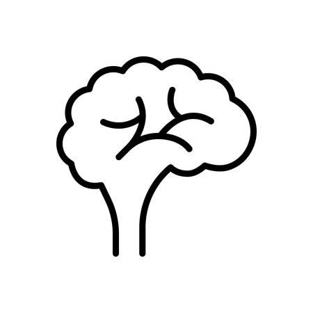 Icon for brain,human Stok Fotoğraf - 130626493