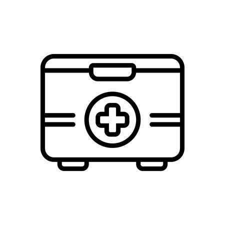 Icon for first aid kit,box