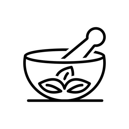 Icon for medical herbs  イラスト・ベクター素材
