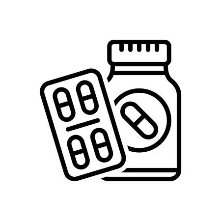 Icon for medication pills,medication