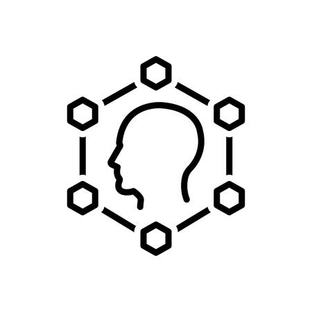 Icon for planning,smart ideas