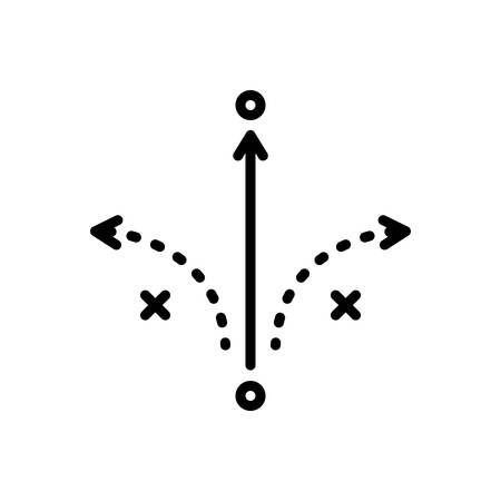 Icon for success tactics,analysis
