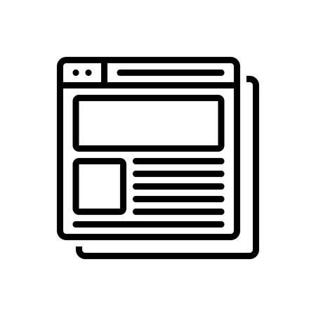 Icon for corporate website,corporate