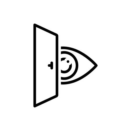Icon for eye looking,vision,see