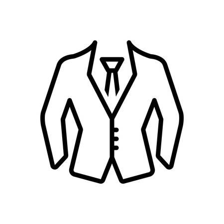 Icon for formal wear,uniform