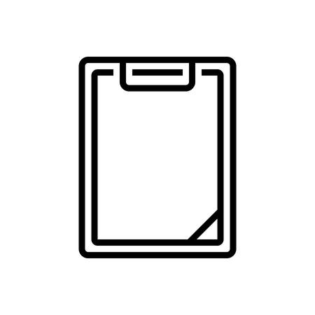 Icon for clipboard,task Çizim