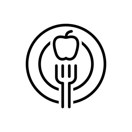 Icon for diet,fork