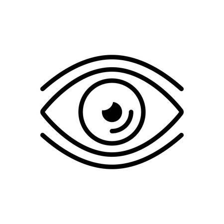 Icon for eye,vision Stok Fotoğraf - 130692775