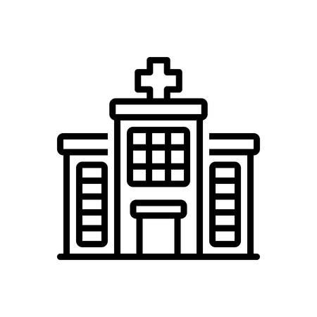 Icon for hospital,bulding
