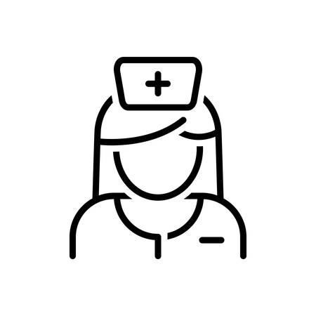 Icon for nurse,sister,avatar