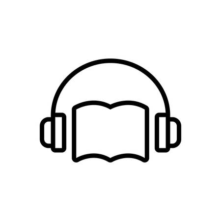Icon for audio book,audio,book