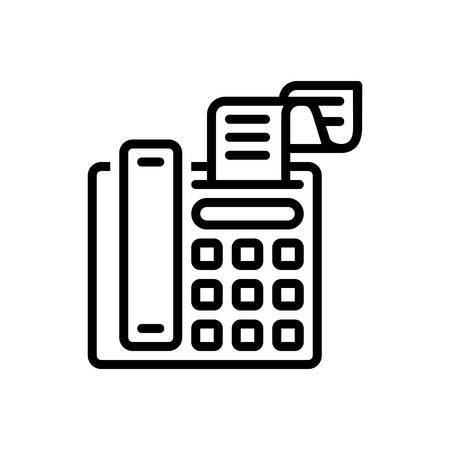 Icon for fax message ,telecommunications