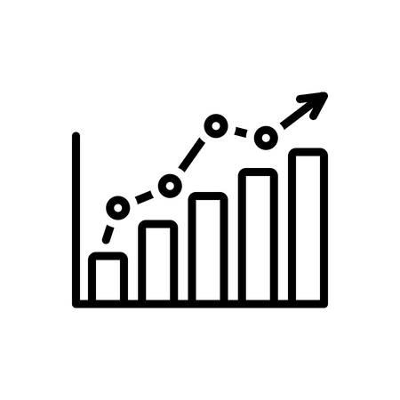 Icon for statistics, data