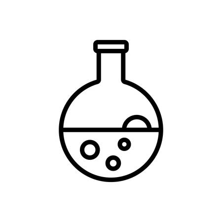 Icon for flask,conical,beaker Illustration