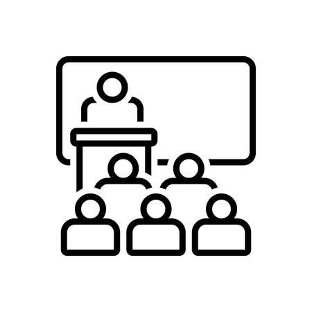 Icon for lecture,seminar