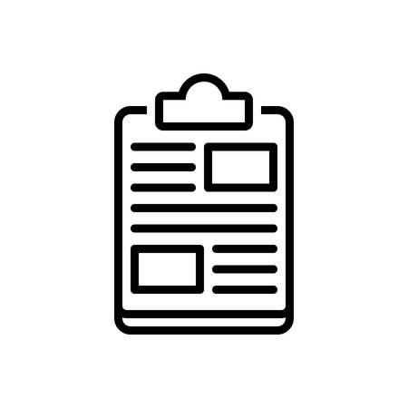 Icon for clipboard,editor,checklist