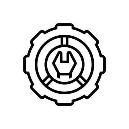 Icon for setting,cogwheel