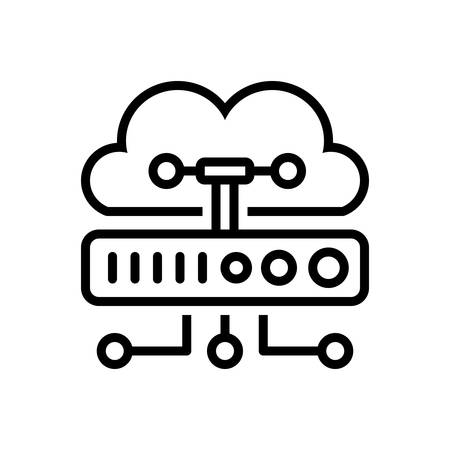 Icon for cloud computing,cloud