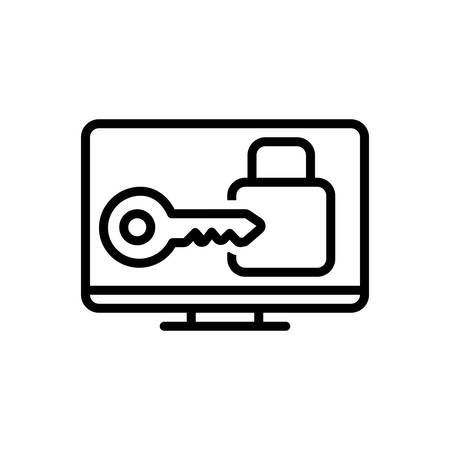 Icon for login,privacy,user Stock fotó - 131132311