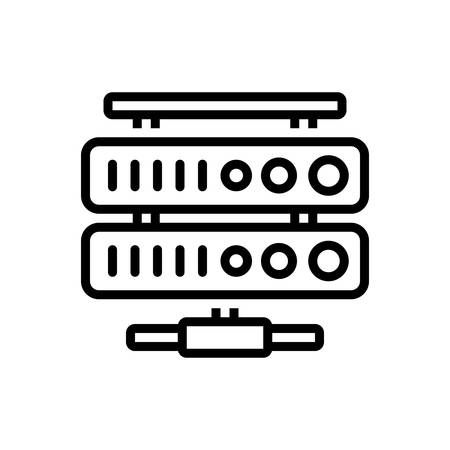 Icon for network database,network,database