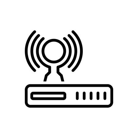 Icon for router,wireless,internet