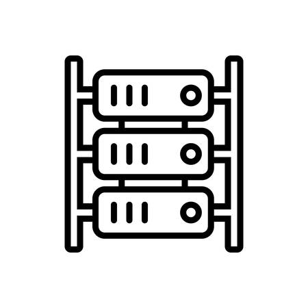 Icon for server,cloud,hardware